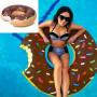 Bouée Géante Donut (Chocolat)