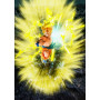 Figurine Super Saiyan Son Goku Burning Battle 20cm Figuarts Zero