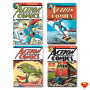 Sous Verres Superman Retro Action Comics