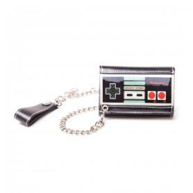 Portefeuille Nintendo NES avec Chaîne
