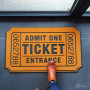Paillasson Ticket de Cinéma