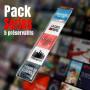 Pack 5 Préservatifs Séries Geek