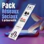 Pack 5 Préservatifs Réseaux Sociaux