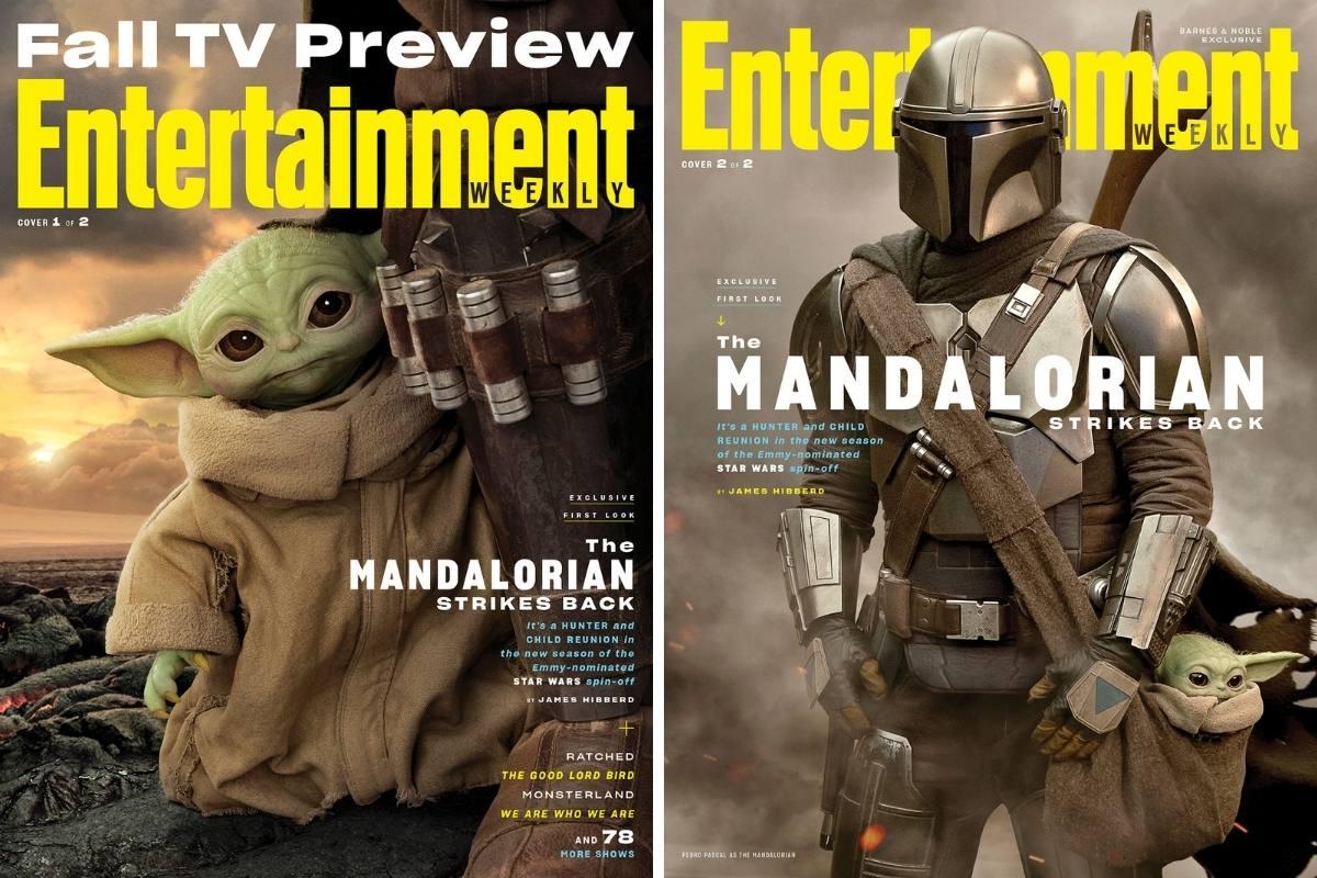 Couvertures Entertainment Weekly - The Mandalorian - Saison 2