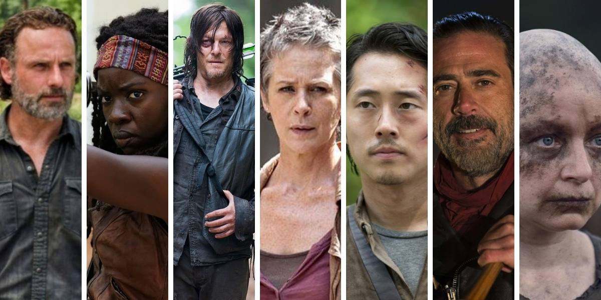Personnages The Walking Dead